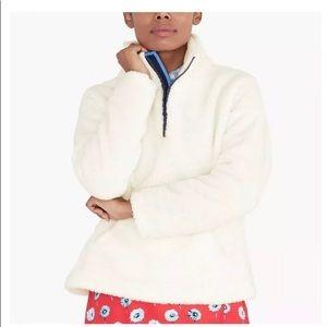 J.Crew Sherpa Popover Jacket NWOT size 2X NICE